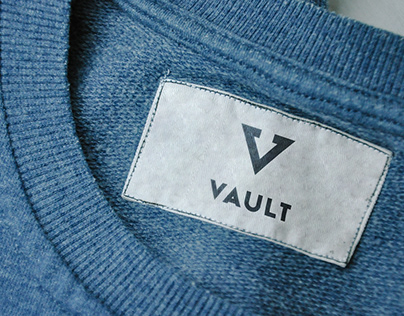 VAULT - Hip Clothing Brand Logo (personal project)
