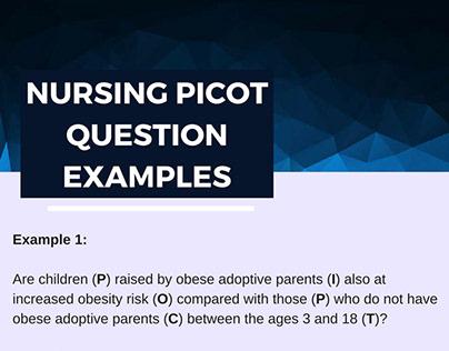 Nursing Picot Question Examples