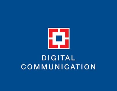HDFC BANK - Digital Communication