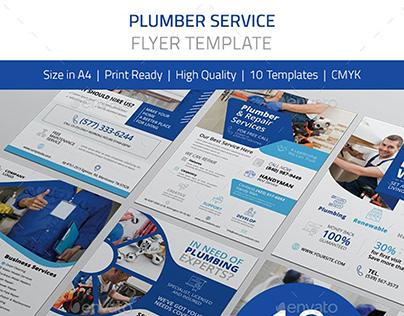 Plumber Service Flyer Pack
