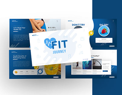Fit Journey – Sport Powerpoint and Keynote Template
