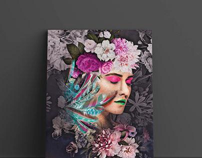 Digital canvas design