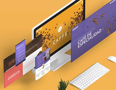 SHB Caffé: Website Concept