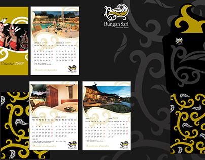 Rungan Sari Resort Calendar