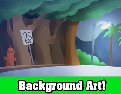 Background Art!