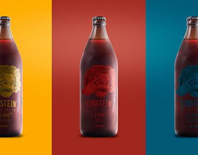 Cerveza Einstein - Etiqueta y Packaging