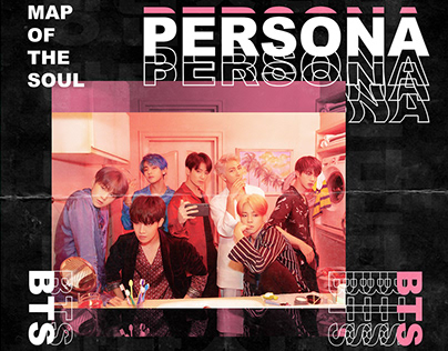 "BTS ""MAP OF THE SOUL 'Persona' Concept Photo"" Re-Design"