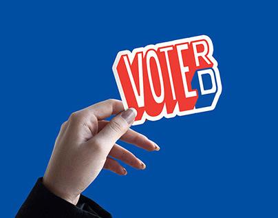 VOTE(D) or VOTE(R) Campaign