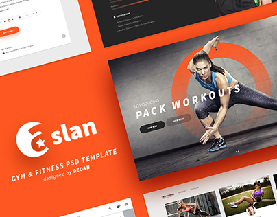 ASLAN | Gym & Fitness Template