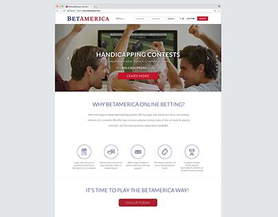 BetAmerica Website