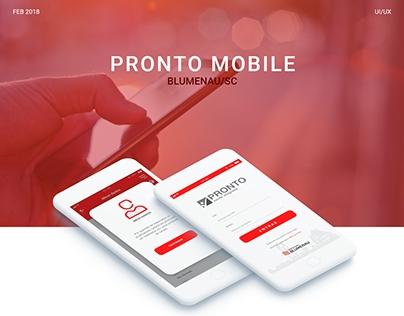 Projeto - Pronto Mobile - 2018.