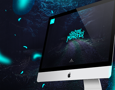 Social Monster - Web Design
