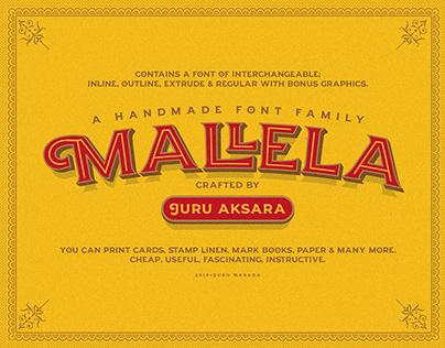 JA Malella Typeface