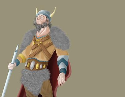Viking Chief Concept Art