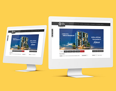 Website Banner, Ambience Luxury Apartment