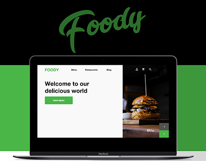 Foody website presentation