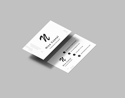 Freelancer - Business card