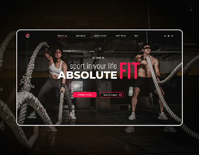 Landing page for SPORT CLUB