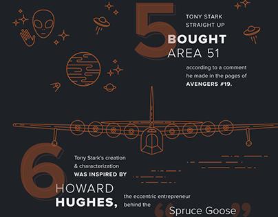 Tony Stark Infographic