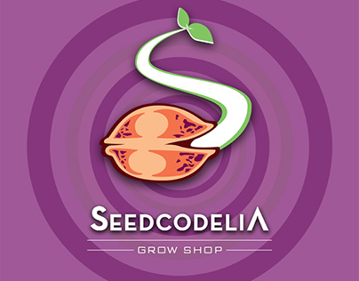 Diseño Logotipo Seecodelia Grow Shop