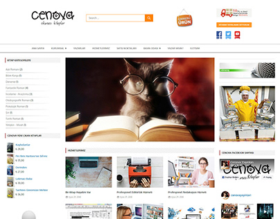 Cenova Publishing House Web Site