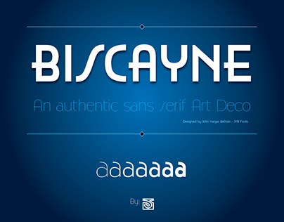 Biscayne - Font family