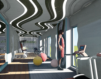 Student Accommodation - Fitness Club
