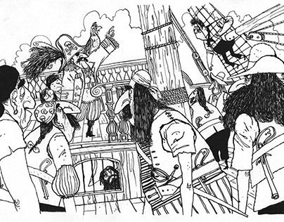Raargebeurd- pirates