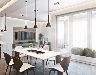 Apartment in Germany - 3D render