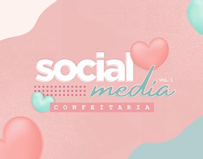 Social Media Confeitaria I Vol.1