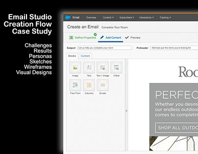 Salesforce Email Creation Flow - Case Study