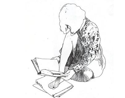 Life drawing, My drawing book.