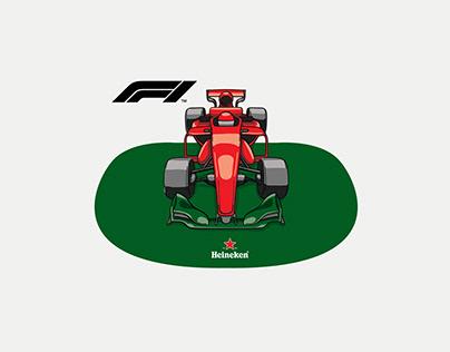 Heineken , F1 2018