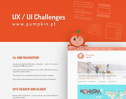 Pumpkin.pt UX UI