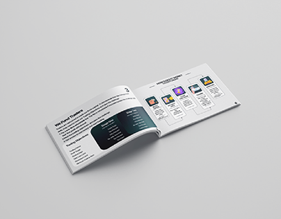 Company Information Booklet Design - Quinstreet