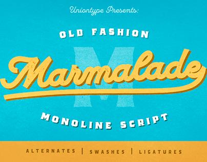 Marmalade Script