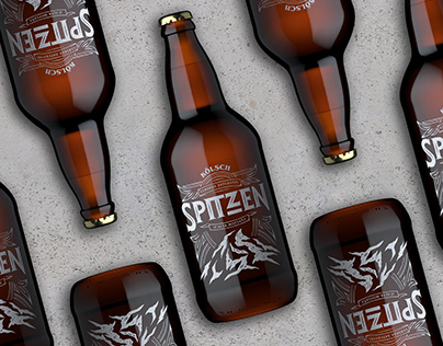 Spitzen - Beer packaging and brand
