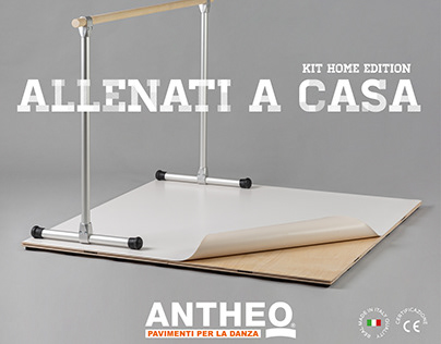 KIT HOME EDITION – ANTHEO PAVIMENTI DANZA