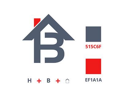 Real estate logo design and free 3d mockup