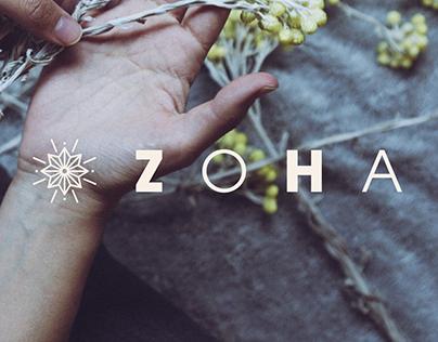 Identidad + Web ZOHA