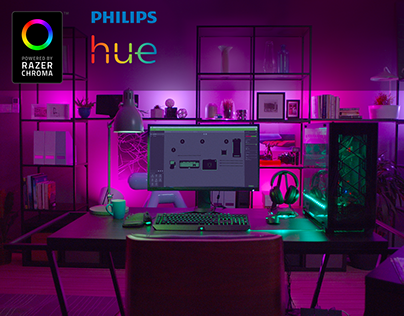 Razer Chroma + Philips Hue