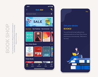 Online Book Shop app