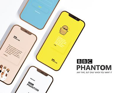 BBC Phantom - D&AD New Blood Awards Entry