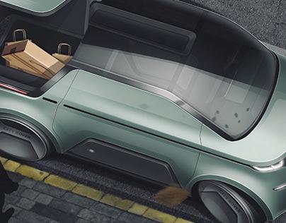 Land Rover City Rover   Electric citycar