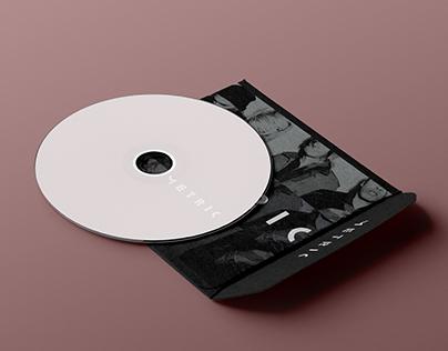 Projeto gráfico: Banda Metric