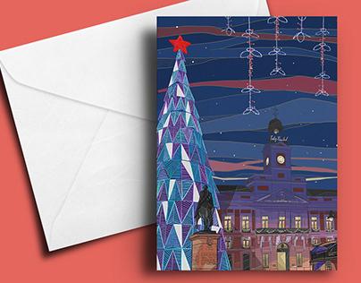 Felicitación navideña Puerta del Sol