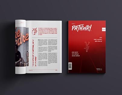 Pathway | Magazine design