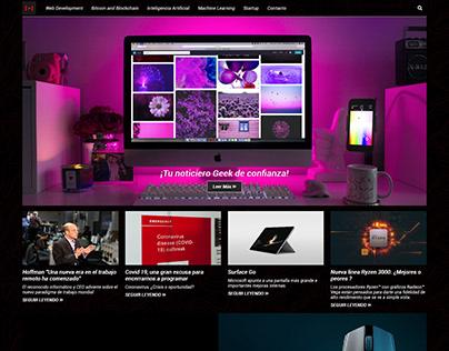 Proyecto Technews. Diario geek.