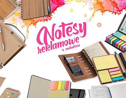 Notesy reklamowe