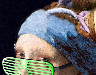 Sistah with a Pearl Earring
